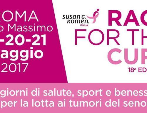 """""""Race for the cure"""", 18esima edizione al Circo Massimo di Roma"""