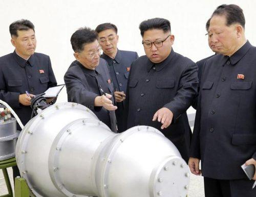 Corea del Nord, il sesto test atomico provoca terremoto del 6.3