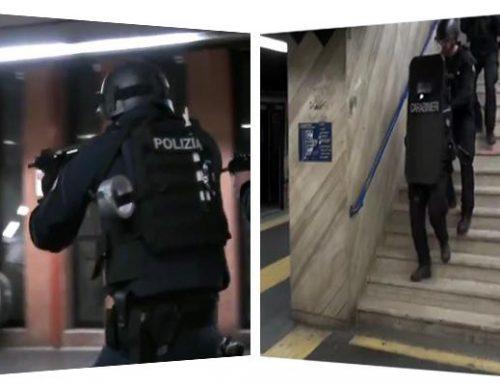 Esercitazione antiterrorismo congiunta Polizia-Carabinieri (VIDEO)