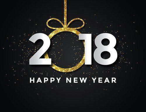 Auguri, buon anno 2018!