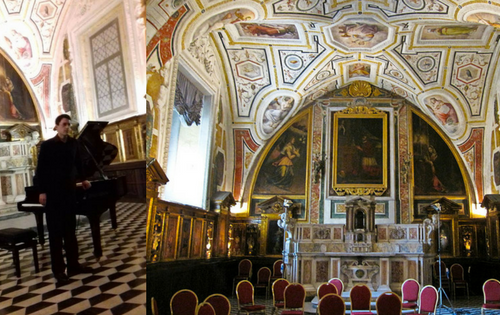 Mario Merola in concerto presso la Cappella del Vasari a Napoli