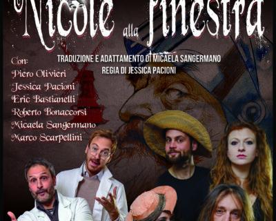 """Al Fara Nume di Ostia """"Gli Squilibristi"""" in """"Nicole alla finestra"""""""