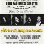 """""""Generazioni scorrette"""", storie di illogica realtà al Teatro Spazio Diamante"""