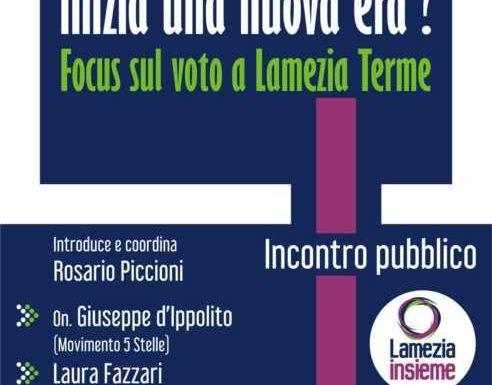 Lunedì a Lamezia Terme focus a più voci sulle elezioni politiche del 4 marzo