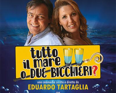 """""""Tutto il mare o solo due bicchieri?"""", chiude la programmazione del Teatro Nino Manfredi"""