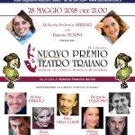 """Nuovo """"Premio Teatro Traiano"""" il 28 maggio la sesta edizione"""