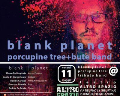 I Blank Planet, sul palco dell'Altro Spazio la tribute band dei Porcupine Tree