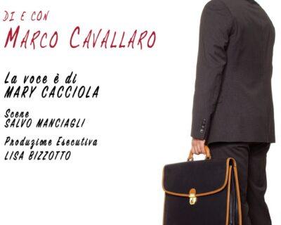 """""""L'occasione"""", Marco Cavallaro porta in scena al Teatro Ar.Ma il testo da lui scritto e diretto"""