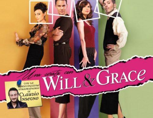 """""""Una serata con Will & Grace"""", divertimento assicurato al Teatro Marconi"""