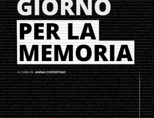 """""""Un giorno per la memoria"""", le vittime innocenti di criminalità nell'antologia curata da Anna Copertino"""