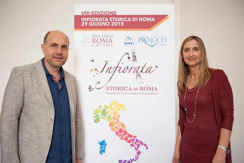 Presentata la VIII edizione dell'Infiorata storica di Roma e l'Infiorata delle Pro Loco d'Italia in programma il 29 giugno