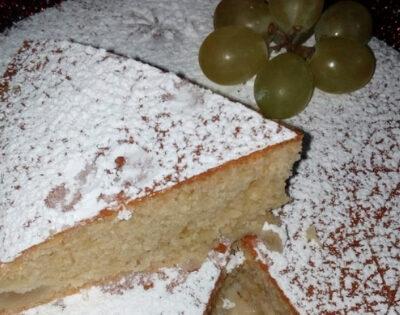 Autunno in tavola, la torta all'uva
