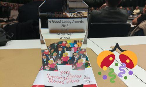 """""""Good Lobby Awards 2018"""", ieri la premiazione dell'Associazione""""Basta Vittime Sulla S.S. 106"""""""
