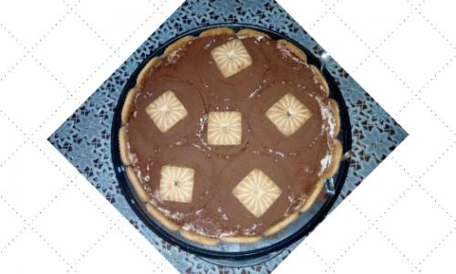 Torta biscottata panna e Nutella®