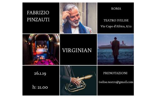 """""""Virginian"""", Fabrizio Pinzauti porta in scena la leggenda del pianista nato sul piroscafo"""