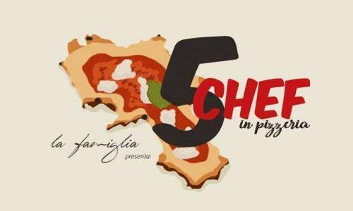"""Casapulla(CE), """"5 Chef in Pizzeria"""": una serata enogastronomica che promuove il territorio"""