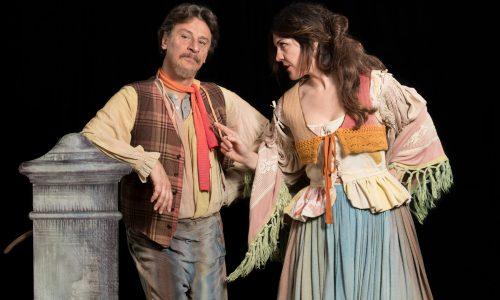 """""""La commedia di Gaetanaccio"""", Giorgio Tirabassi e Carlotta Proietti al Teatro Traiano"""