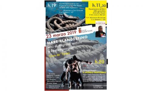 """""""Mare clandestino"""", Cava de' Tirreni protagonista di un incontro-testimonianza sul tema delle migrazioni"""