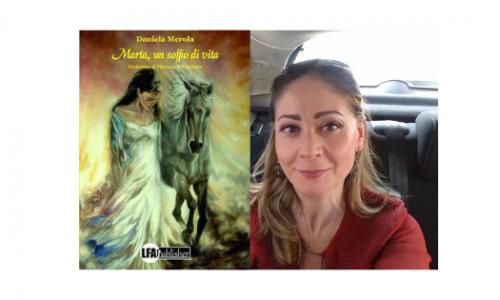 """""""Marta, un soffio di vita"""", continua il tour di presentazioni di Daniela Merola. Il 1° aprile tappa a Roma"""
