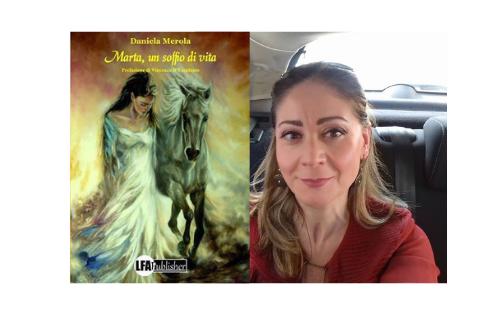 """""""Marta, un soffio di vita"""", Daniela Merola presenta il suo romanzo a """"Fiumi di parole"""" (INTERVISTA INTEGRALE)"""