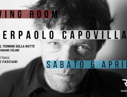 """Radio Città Aperta, Pierpaolo Capovilla ospite del quinto appuntamento """"Living Room"""""""
