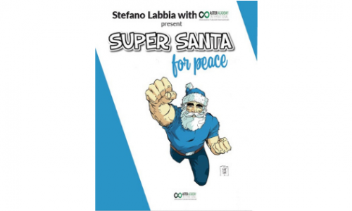 """""""Super Santa for Peace"""", il volume di illustrazioni che aiuta le popolazioni colpite dal sisma del Messico"""