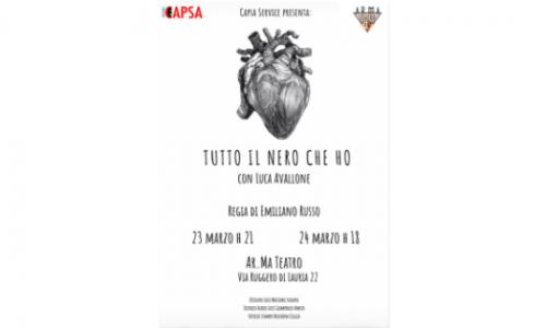 """""""Tutto il nero che ho"""", Luca Avallone e la crudeltà dell'adolescenza"""