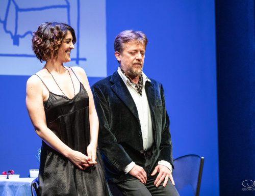 """Carlotta Proietti e Gianluigi Fogacci all'OffOfff Theatre con """"The Prudes"""""""