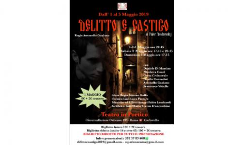 """Al Teatro in Portico """"Delitto e Castigo"""""""