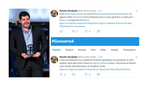 """""""GomorraTweet"""", la timeline della quarta stagione (3° e 4° episodio) nei cinguettii di @RenatoNovAjello"""