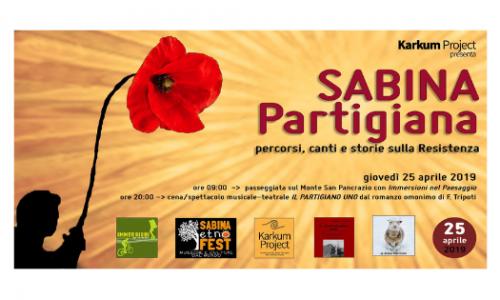"""Karkum Project presenta """"Sabina Partigiana – Percorsi, canti e storie sulla Resistenza"""""""