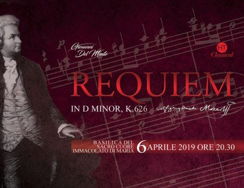 "H. T. Classical  presenta ""La Messa Da Requiem di Mozart"""