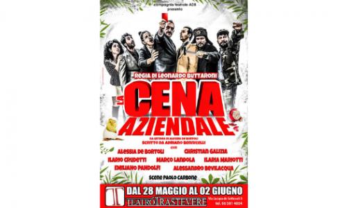 """""""La Cena Aziendale"""" conclude la stagione del Teatro Trastevere prima degli eventi estivi"""