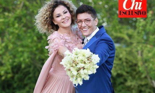 """Eva Grimaldi e Imma Battaglia hanno detto """"Sì"""""""