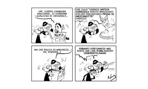 """La vignetta: """"Affaroooooneee!!!!"""""""