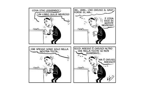 """La vignetta: """"La nevrosi è di moda!"""""""
