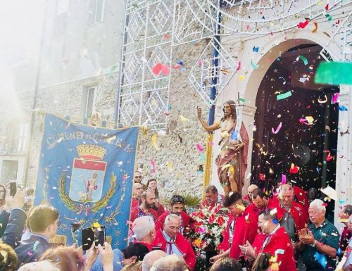 Gizzeria (CZ): entusiasmo e devozione per la festa del santo patrono, live di Cosimo Papandrea