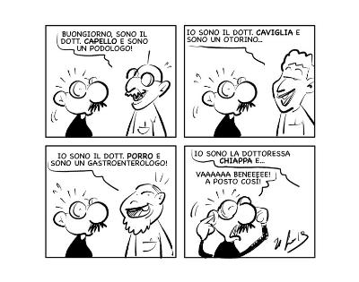 "La vignetta: ""Se i cognomi parlassero…"""