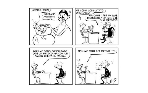"""La vignetta: """"Non mi fido, io…"""""""
