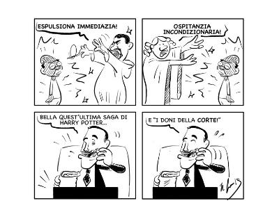 """La vignetta: """"E la saga continua…"""""""