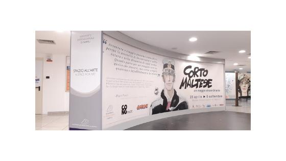 """""""Corto Maltese. Un viaggio straordinario"""", all'aeroporto di Capodichino l'esposizione-omaggio a Hugo Pratt"""