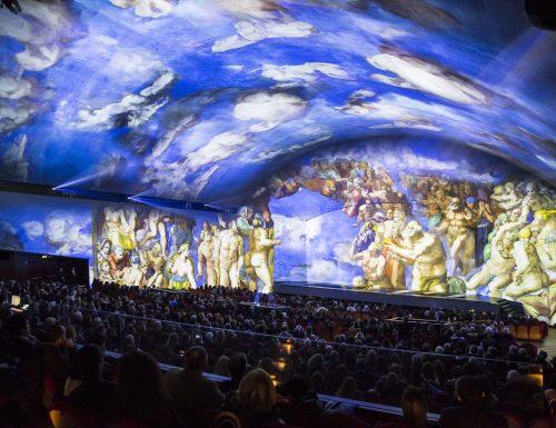 """""""Giudizio Universale – The Sistine Chapel Immersive Show"""", un nuovo format di intrattenimento culturale"""