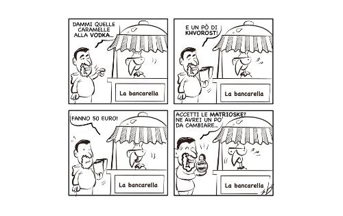 """La vignetta: """"Occhio alla valuta…"""""""