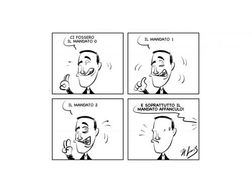 "La vignetta: ""Strani mandati"""