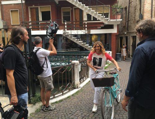 """""""Grand Tour"""", Lorella Cuccarini alla scoperta di Treviso"""