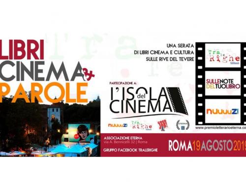 """Il gruppo editoriale """"Tra le Righe"""" all'Isola del Cinema 2019"""