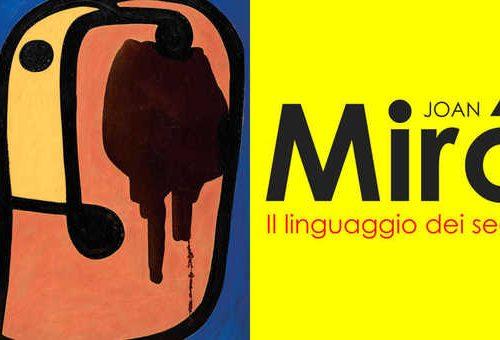 """""""Il linguaggio dei segni"""", Joan Mirò in mostra al Pan di Napoli"""
