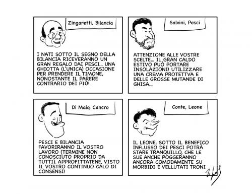 La vignetta: Oroscopolitico!