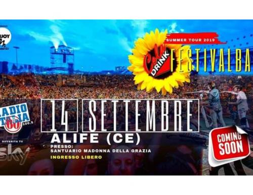 Cola Drink Festivalbar 2019, premio alla carriera a Gigi Finizio il 14 settembre ad Alife