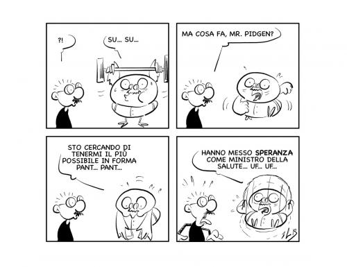 """La vignetta: """"Nessuna speranza…"""""""